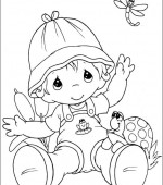 coloriage precious moments 015